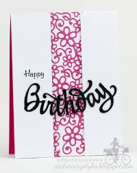happy birthday simple design stationery styles seeing white serendipity sts daisy border and