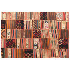 Patchwork Area Rug 6 7 X 10 Kilim Patchwork Area Rug High Quality Kilim