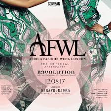 africa fashion week official afterparty tickets revolution