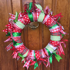 offray easy ribbon wreath
