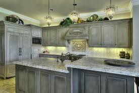 Painted Glazed Kitchen Cabinets Gray Painted Kitchen Cabinets Kitchen Decoration