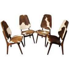 Cowhide Upholstery Cowhide Furniture 272 For Sale At 1stdibs