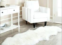 White Fur Area Rug Fur Rug Adorable Interesting Sheepskin Area Rug Faux Fur On