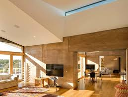 home wall design interior striking rammed earth home blends into the hills of santa fe