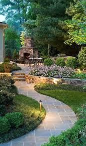 stepping stone garden path ideas woodland garden path of