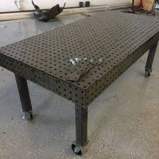 tab and slot welding table welding fixture jig table 40 x80 dxf file ebay set of amazing
