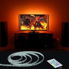 ambient light behind tv top 20 best usb led backlight rgb adhesive strip for flat screen