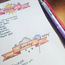 Decorative Journals 12 Layout Ideas You U0027ll Want To Steal For Your Bullet Journal