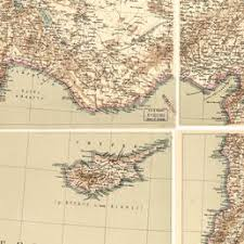 Provinces Of The Ottoman Empire New General Map Of The Asian Eastern Provinces Of The Ottoman