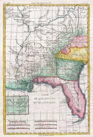 louisiana florida map file 1780 raynal and bonne map of louisiana florida and carolina