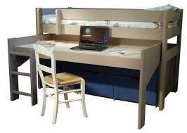 letto a con scrivania letto a soppalco con scrivania e cassettiera dominique le