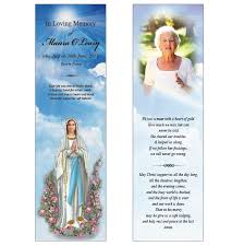 memorial bookmarks memorial bookmark bmr011 island memorial cards