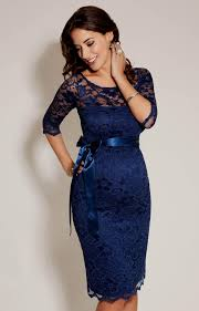 blue lace maternity dress naf dresses