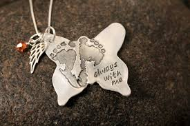 your baby or child s actual footprints or prints on a silver