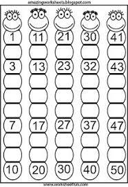 14 numbers 1 50 images free printable