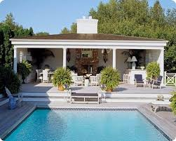Backyard Cabana Ideas Outdoor Kitchen Designs With Roofs Pool Cabana Outdoor Pool