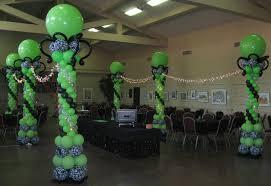 Lighted Balloons Balloon Decor Of Central California Home