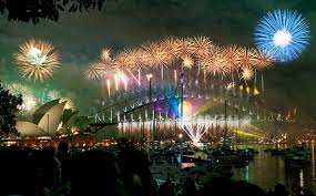 2000 new years file sydney habour bridge opera house fireworks new year