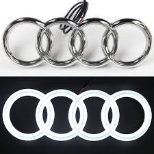 logo audi led emblem for audi a3 s3 rs3 a4 a5 a6 front illuminated logo