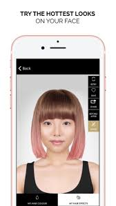 chico tv model hairstyles style my hair try on color on the app store