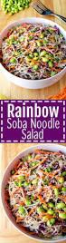 rainbow soba noodle salad noming thru life