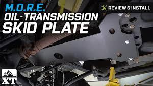 jeep wrangler m o r e oil transmission skid plate 2007 2017 jk