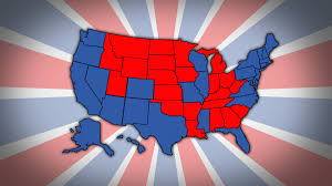 Election 2016 Map by Onevote 2016 Mock Election Electoral Vote Breakdown Channel One News