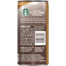 starbucks doubleshot espresso u0026 salted caramel cream premium
