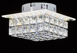 3 Bulb Flush Mount Ceiling Light Fixture by Top Lighting Modern Led Crystal Chandelier Flush Mount Ceiling