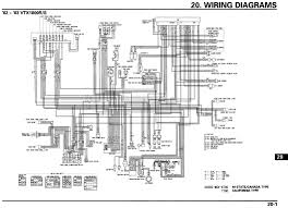motorcycle wire schematics bareass choppers tech pages vtx 1800n