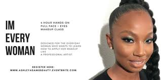 makeup classes in houston i m every woman makeup class tickets sat feb 24 2018 at 12 00