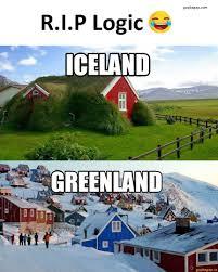 Iceland Meme - funny meme about iceland vs greenland haha pinterest iceland