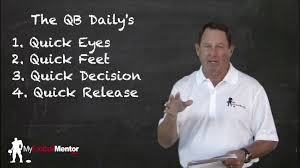 photos and professor qb drills dailies by my football mentor staff coachtube