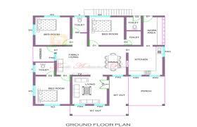 Ground Floor 3 Bedroom Plans 1300 Square Feet 3 Bedroom Single Floor Home Design And Plan