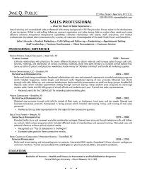 examples of sales resumes sales resume sample 2016 experience