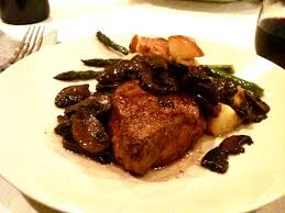 cuisine filet mignon fast food filet mignon with truffle ragout three more