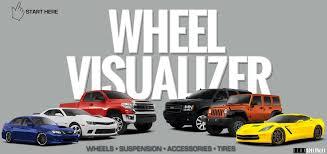 wheel visualizer west coast tires u0026 auto center