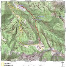 Colorado 14er Map by Peter Estin Hut Denverdavis