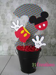 mickey mouse center pieces centro de mesa cumpleaños mickey mouse mice and