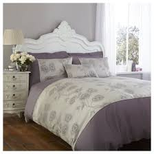 Thomas Single Duvet Cover Charlotte Thomas Antonia Duvet Cover In Light Purple U0026 Grey