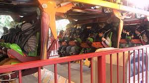 Six Flag Los Angeles Tatsu Roller Coaster Six Flags Magic Mountain Los Angeles Youtube