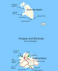 Antigua Map Fidelity Luxury Catamaran Charters Bvi Yacht Charters