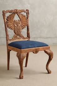 hand carved menagerie dining room furniture topista