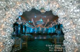 Winter Party Decorations - winter wonderland bat mitzvah wedding sweet 16 party