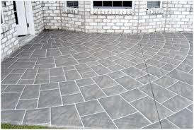 backyards trendy painting patio concrete ideas backyard