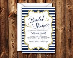 nautical bridal shower invitations nautical bridal shower invitations anchor wedding blue
