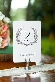 Vintage Table Number Holders Sweet Vintage Wedding Table Number Signs 1 20 White Or Cream