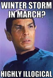 Winter Storm Meme - winter storm vulcan is a nightmare so let these 7 spock memes help