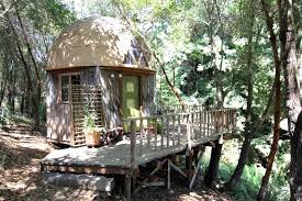 geodesic dome inhabitat green design innovation architecture airbnb s most popular rental is a tiny mushroom dome cabin