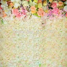 wedding backdrop of flowers aliexpress buy huayi wedding floral wall fabric